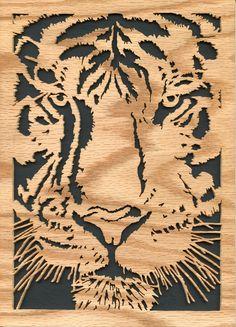 Tiger scroll saw