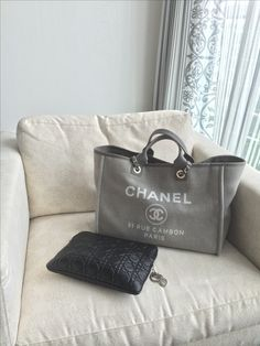 My summer love. The Chanel Deauville is more than a Beachbag for me. In summer I use this beautiful when I have to carry some bits and pieces.