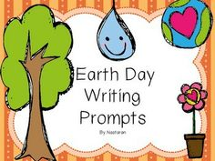 Earth Day Writing Prompts contains 8 worksheets.Each page has a topic and the students can practice writing skills. With this product, you can encourage students to think about important issues while helping them to learn the value of their thoughts. They'll love the chance to develop creative new ideas!