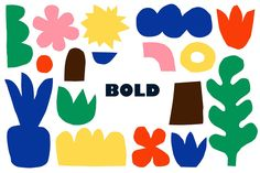 """BOLD"" it's a set of patterns, collages, elements and cards in modent technique of contemporary art - abstract collages. Such non-trivial artistic designs in bright colors you can use for Illustration Photo, Graphic Illustration, Bold Logo, Design Graphique, Graphic Patterns, Grafik Design, Naive, Textile Prints, Contemporary Art"
