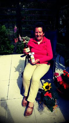 Mit Rotkäppchen Rose kann man sehr gut seinen 78' Geburtstag feiern.