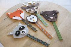 Make bookmarks for a market day or just for fun.