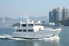 Cheoy Lee Serenity 90 Expedition Motor Yacht - Hull No.1 was originally owned by none other than Jimmy Buffett.