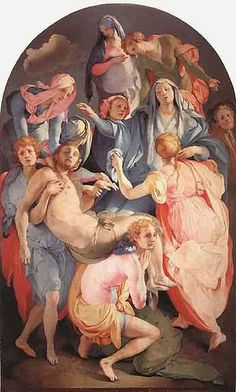 Jacopo Pontormo - Deposition, 1528-29