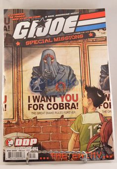 GI Joe Special Missions The Enemy One Shot (2007 DDP)