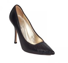 Fashion Lover Consignment - Roberto Cavalli Black Leather Pointed Court Shoes size 37 1/2,US 7.5, $295.00 (http://www.fashionloverconsignment.com/roberto-cavalli-black-leather-pointed-court-shoes-size-37-1-2-us-7-5/)