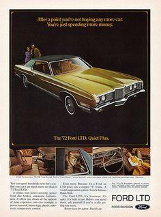 1972 Ford LTD Brougham Two Door Hardtop