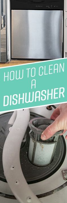 Your dishwasher simplifies the daily routine of cleaning mountains of dirty dishes and cookware. But to remain in full working order, it needs a thorough cleaning once or twice a year. This will help prevent mineral deposits and hard water stains, as well as musty odors from accumulated grease, food debris and soap scum. Additionally, most new-model dishwashers have a manual-clean filter that needs to be regularly cleaned out to avoid drainage problems and foul odors.