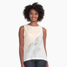 """Trendy pastel marble pattern"" Sleeveless Top by ind3finite   Redbubble Marble Pattern, Pastel, Tank Tops, Womens Fashion, Pie, Halter Tops, Women's Fashion, Feminine Fashion, Crayon Art"