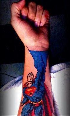 ... Tattoo For Girls Superhero Tattoo Tattoo Superman Superman Tattoo