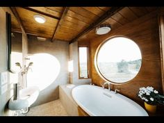 The Monocle Is A Lucky Couple's Dream Tiny House - YouTube