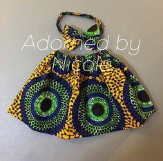 Bandeau et jupe imprimée africaine filles par AdornedbyNicole