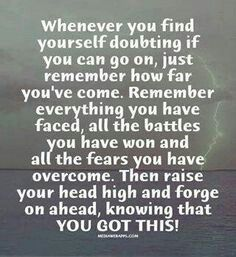 With every letter I wrote to my son while he was at MCRD SD training to become a US Marine, I sent a quote for encouragement.... Semper Fi