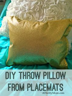 diy throw pillow mad