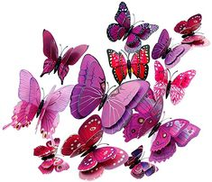 Pegatina OHQ Pegatina Etiqueta Engomada Nota Musical ExtraíBle Arte Vinilo Mural Home Room Decor Pegatinas De Pared DecoracióN De Pared Butterfly Wall Stickers, Mirror Wall Stickers, Wall Stickers Home, Diy Stickers, Kids Room Murals, Wall Murals, Diy Butterfly, Vinyl Art, Xmas Decorations