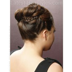 12 Beautifully Braided Hairstyles for Prom ❤ liked on Polyvore featuring hair