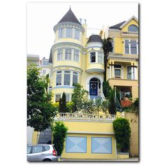 I WANT! . #SanFranciscoDreaming #Magic #FairyTale #City #QueenAnne #Victorian #SF #SanFrancisco #Realtor #RealEstate #ColdwellBanker