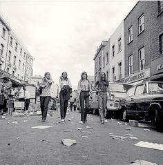 Portobello Road, London circa 1970