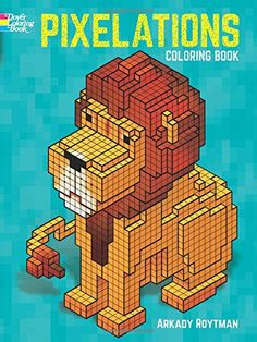 Pixelations Coloring Book by Arkady Roytman http://www.amazon.com/dp/0486792005/ref=cm_sw_r_pi_dp_tn6Bvb0SAC5TV