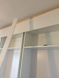 IKEA Billy Bookcase Hack - Wall Of Built-ins - The Sommer Home Ikea Built In Wardrobes, Ikea Wardrobe, Built In Shelves Living Room, Built In Bookcase, Bookcases, Home Office Setup, Home Office Design, Home Cinema Room, Ikea Billy Bookcase Hack