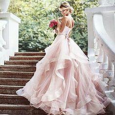 Brautkleid ausgefallen farbig