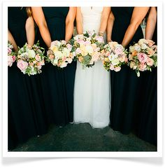 Love the bouquets