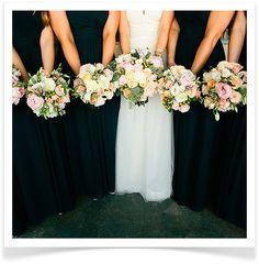 pretty jewel toned bridesmaids dresses