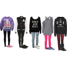 """""""Outfits for my photo shoot o.o // IT'S SO COLD// Hopefully I might be able to talk to my friends latter on// I'll Be back in like a hour or so - Macy"""" by ledabunny on Polyvore"""