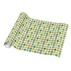 #Baby Supplies Wrapping Paper