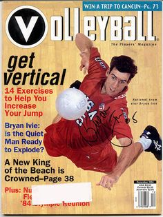 mike dodd volleyball  | VM: Autographed Magazine Covers