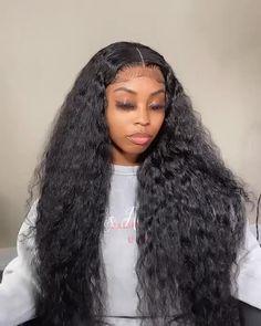 Black Hair Updo Hairstyles, Frontal Hairstyles, Black Girls Hairstyles, Weave Hairstyles, Curly Hair Styles, Natural Hair Styles, Hair Game, Wigs For Black Women, Gorgeous Hair