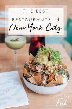 Struggling to find a place to eat in New York City? This is the ULTIMATE restaurant guide with all the most delicious and fun places to eat in NYC! Restaurant New York, Top New York Restaurants, Restaurant Recipes, Restaurant Guide, Restaurants In Manhattan, Manhattan Nyc, Lower Manhattan, New York Winter, Backpacking Europe
