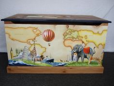 Painted Furniture, would love the talent to do this..
