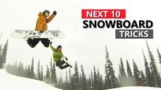 List of the next ten tricks to learn on your snowboard. These snowboarding tricks are in order and each one will teach you a skills you can use in the next t...