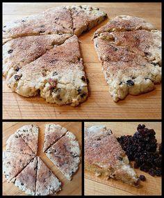 Vegan Gluten Free Currant Scones – One Sweet Healthy Vegan