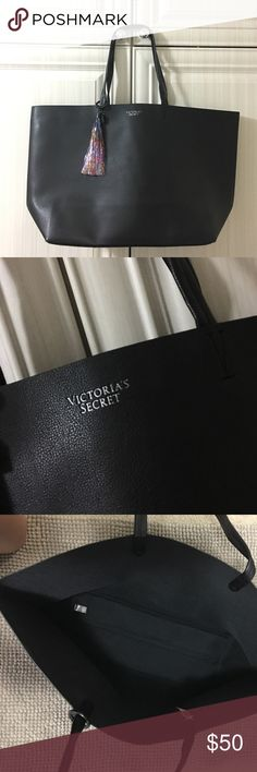 NWT VS Black Friday Tote. SALE!!! 🎄🎁✨Special Edition VS Black Friday Tote. No longer being sold. Huge tote with plenty of space! Perfect for gym/beach/etc. Great Christmas present!! Victoria's Secret Bags Totes