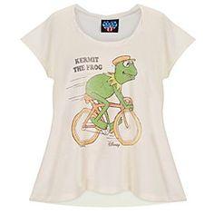 bikes AND kermit. i NEED this shirt :)