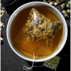 Chamomile tea right before bed makes you sleep through the night.