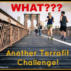 What?!? Another Terrafit Challenge! Yep that right! This week I started a new Terrafit Challenge! I thought I would share! I will probably not blog an update about it like I did the first time around but I wanted to share that I was doing another one and my goals... #fitness #terrafit #weightloss