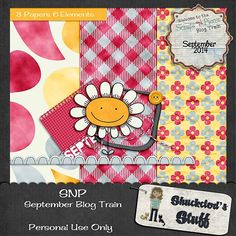 Tammy Tags Blog Train Post - September 2014, Scraps N Pieces.  Wonderful blog train with lots and lots of great digital scrapbooking freebies!