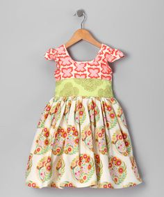 Take a look at this Butterfly Charlotte Dress - Infant, Toddler & Girls by Moxie & Mabel on #zulily today!