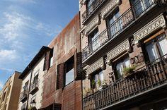 Casa en la calle de San Vicente Ferrer 78. Vista desde la calle. Abril 2015. Fotografía de David Bornscheuer.