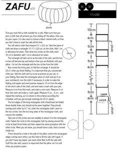 How to make a zafu - meditation cushion