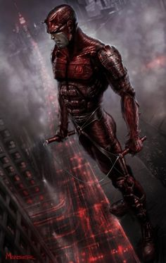 The batman of the marvel universe Matt Murdock AKA The Dare Devil Comic Book Characters, Comic Book Heroes, Marvel Characters, Comic Books Art, Comic Character, Comic Art, Comic Pics, Book Art, Films Marvel