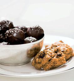 Chocolate Fig Bites from Giada De Laurentiis' new book, Giada's Feel Good Food