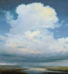 Stephen Bach - Landscape Paintings Contemporary Landscape, Landscape Art, Landscape Paintings, Sky Painting, Impressionist Paintings, Environmental Art, Beautiful Landscapes, Unique Art, Art Images
