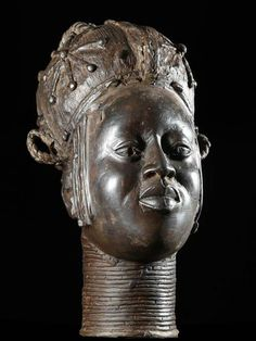 Benin bronze of queen