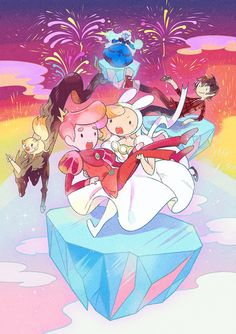 AT - maruco illust gallery Nickelodeon Cartoons, Watch Cartoons, Animated Cartoons, Prince Gumball, Manga Anime, Marceline And Bubblegum, Jake The Dogs, Adventure Time Art, Princess Bubblegum