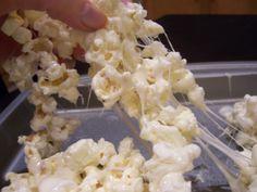 Snow White Popcorn Treats - Life and Kitchen