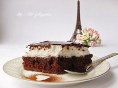 Торт с неполиткорректный названием или как правильно готовить безе и шоколадную глазурь